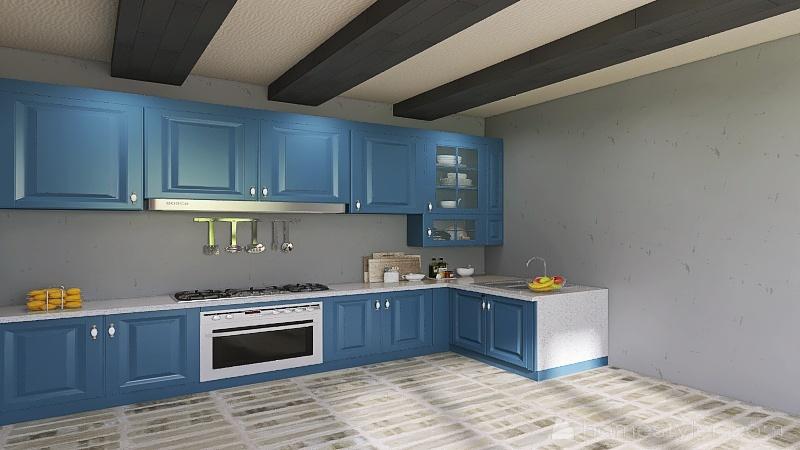 Copy of kitchen Interior Design Render