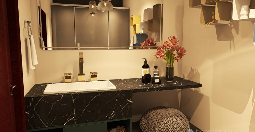 family home France Interior Design Render