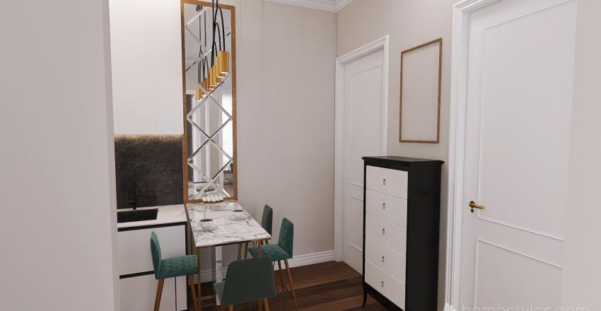 БАДЕН 3 ЭТАЖ 1 Interior Design Render