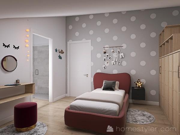 Via Ghiara_P2 app medio D Interior Design Render