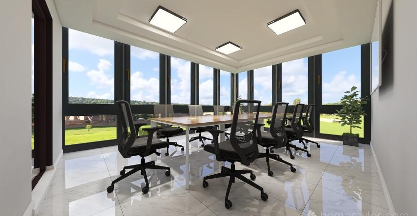 New Head Office Interior Design Render