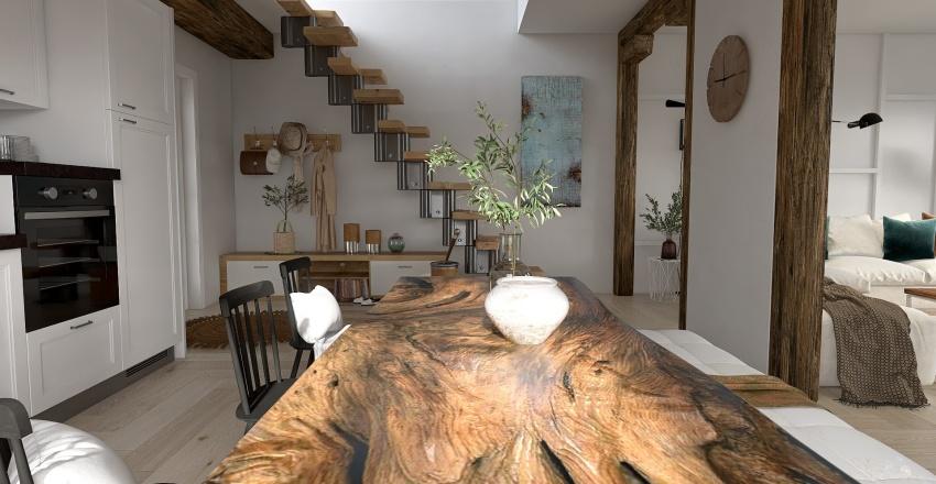 Apartamento Duplex Interior Design Render