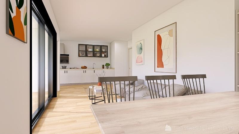 Casa Andrés y Carmen buena Interior Design Render