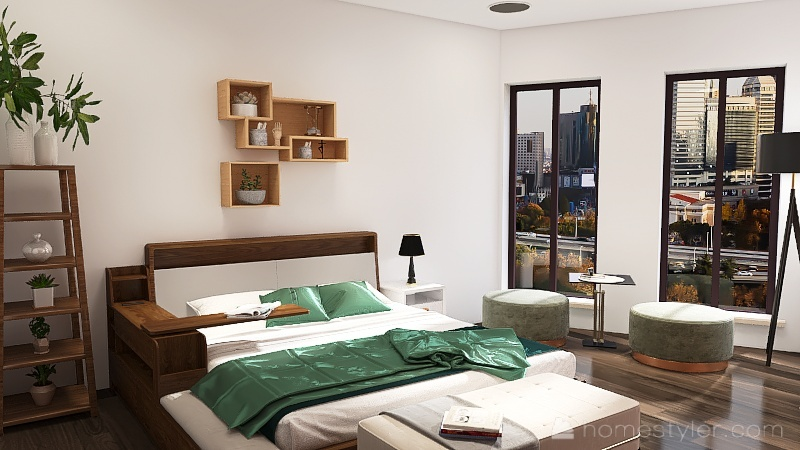 Remake of another apartment I did Interior Design Render