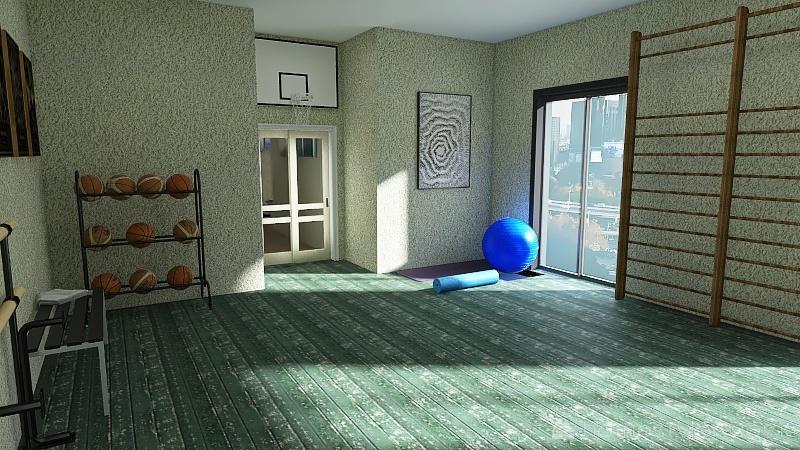 Scuola superiore Interior Design Render