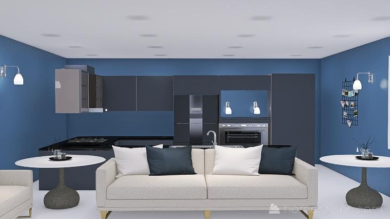 Copy of six kitchens Interior Design Render