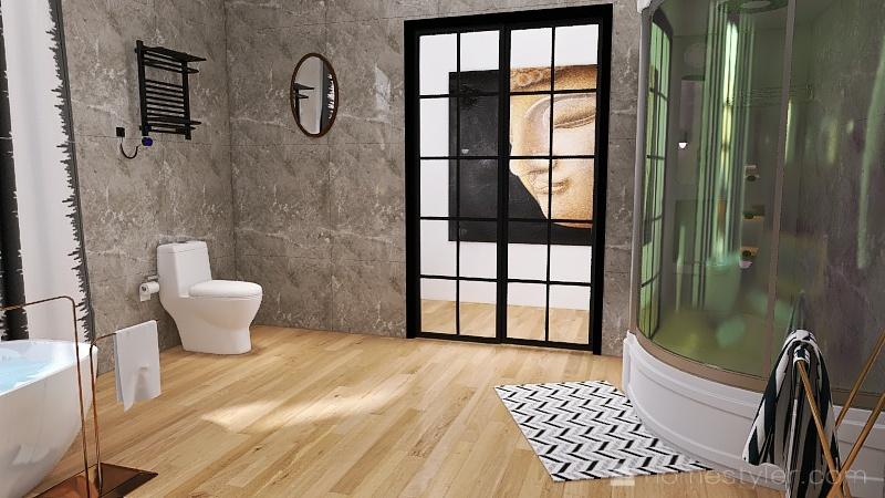 villa de quartier Interior Design Render