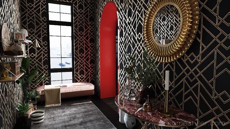 Casa Art Deco Interior Design Render