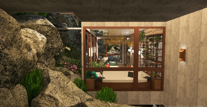 View from the hill Interior Design Render