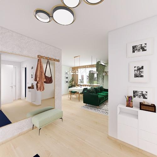 Gustawa Morcinka Interior Design Render