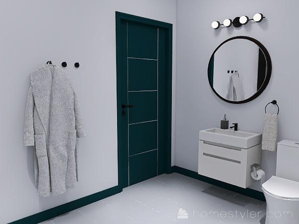 HJA Basement Show Room Interior Design Render