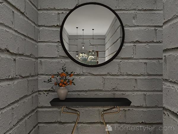 cozy mountain getaway Interior Design Render