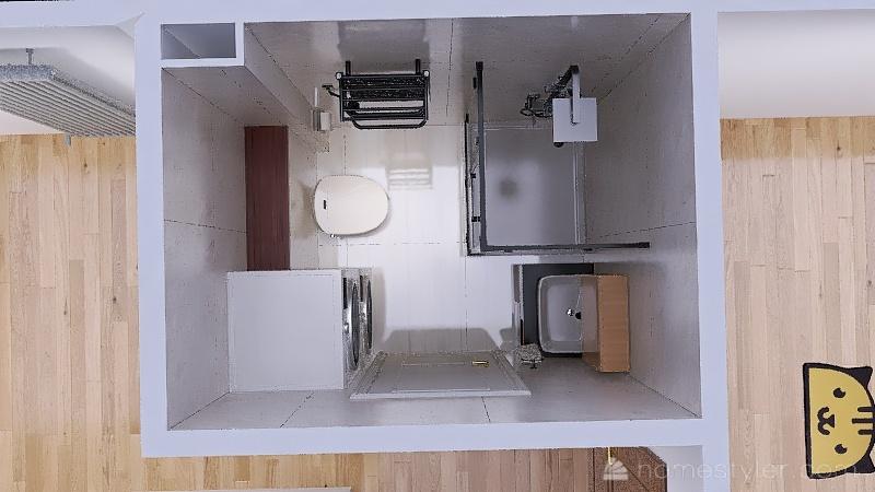 Łazienka V2 Interior Design Render