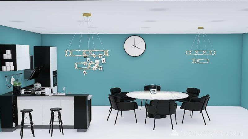 Copy of Copy of Copy of six kitchens Interior Design Render