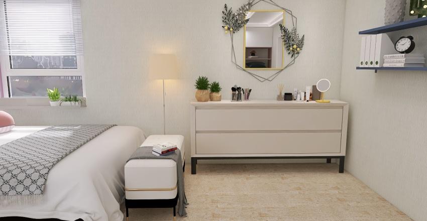 A quiet life in a calm atmosphere Interior Design Render