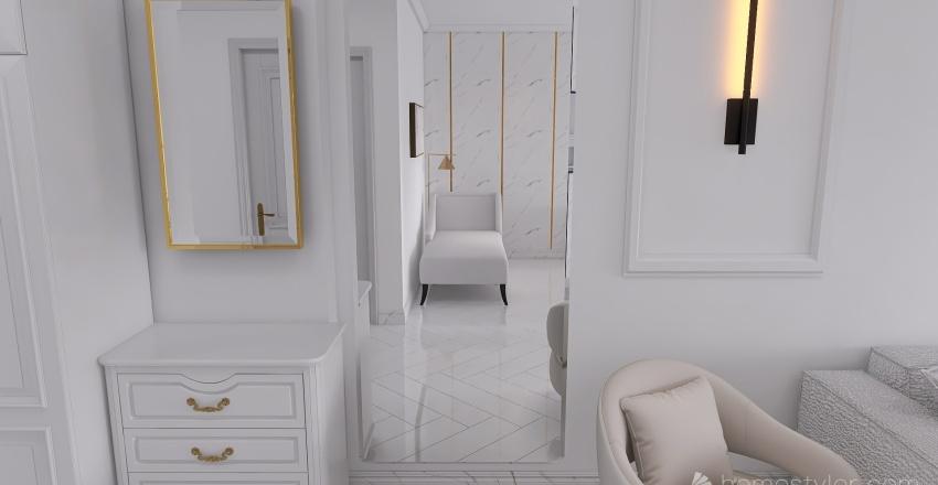 Seaside Apartment Interior Design Render