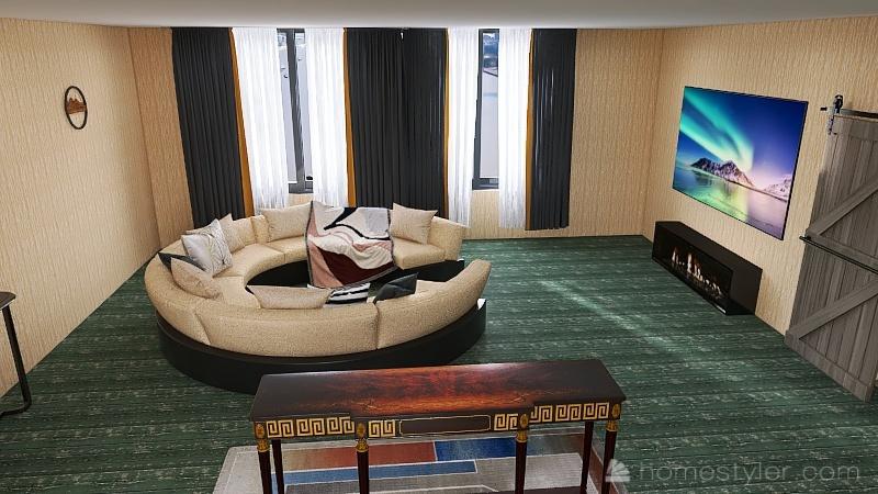 U2A1 Welcome to my Home Jordan, W Interior Design Render