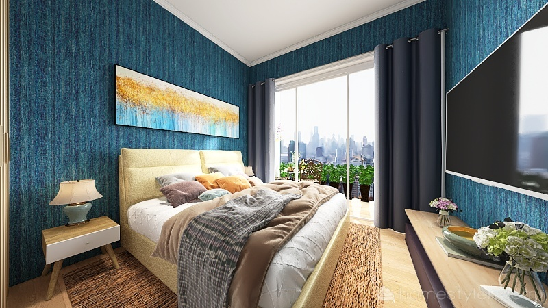 Appartamento in città Interior Design Render