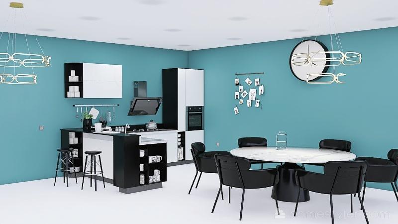 Copy of Copy of six kitchens Interior Design Render
