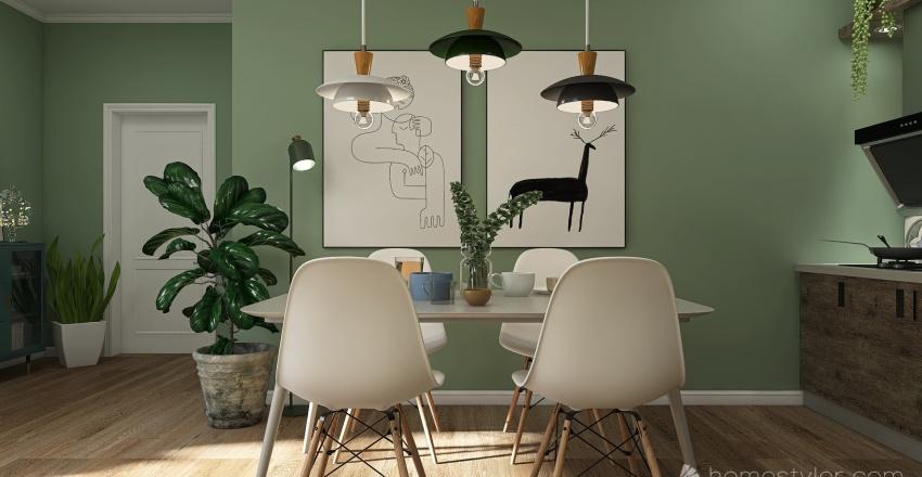 Apartment Denise Interior Design Render