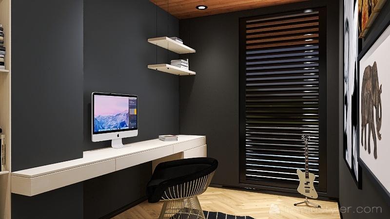 Forty Land Interior Design Render