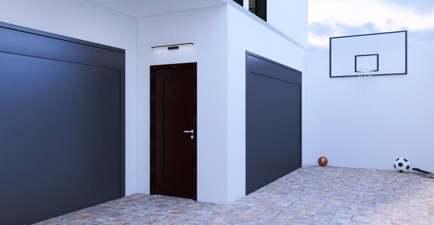 Beach House Hideaway Interior Design Render