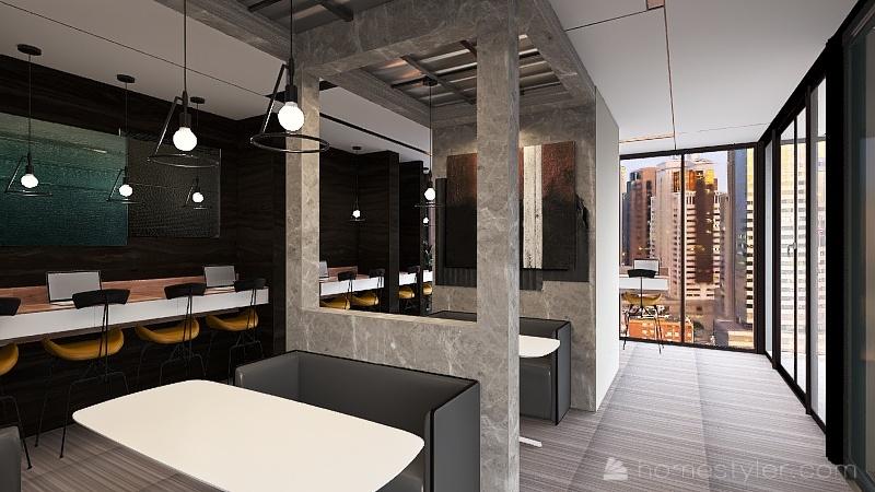 office 2 Interior Design Render