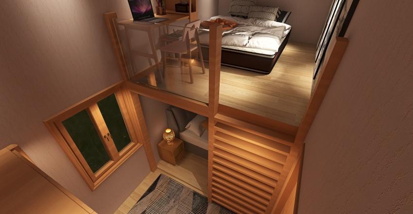 Villa Quarantine Interior Design Render