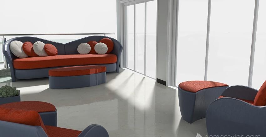 Outdoor Furniture Design Interior Design Render