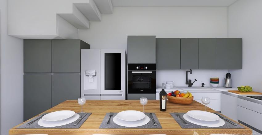 La Casa - PIANO TERRA Interior Design Render