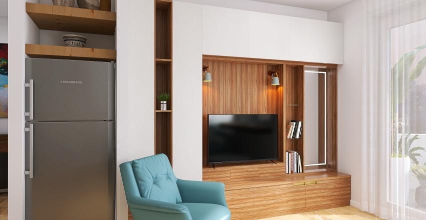 Milan apartment Interior Design Render