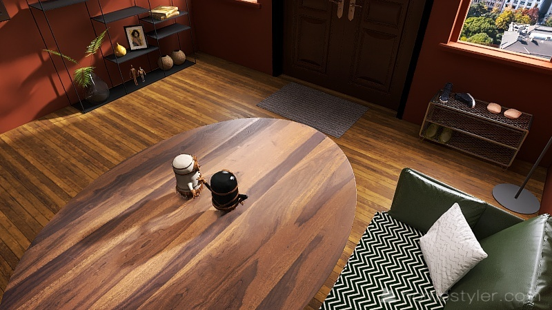 U2A1 Welcome to my Home Cassibo, Connor Interior Design Render