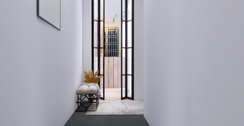 metropolitan loft Interior Design Render