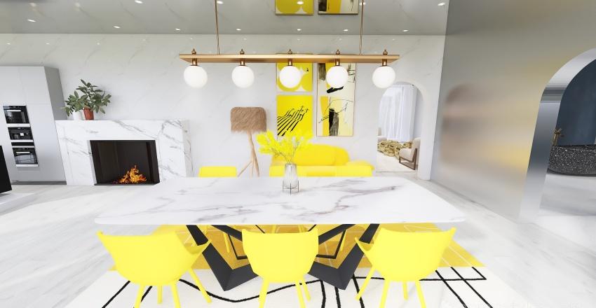 Sunrise House Interior Design Render