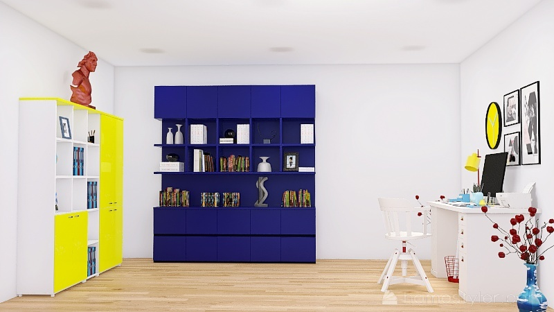 Copy of oficina1 Interior Design Render