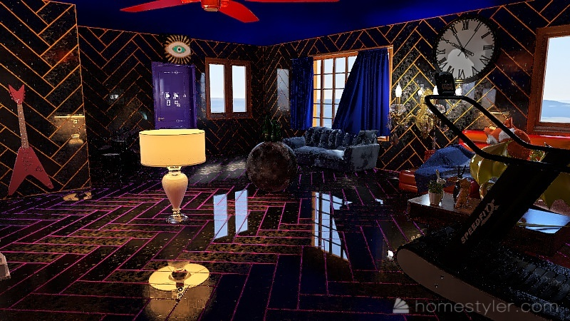 U2A1 Welcome to my Home, Williams, Xander. Interior Design Render