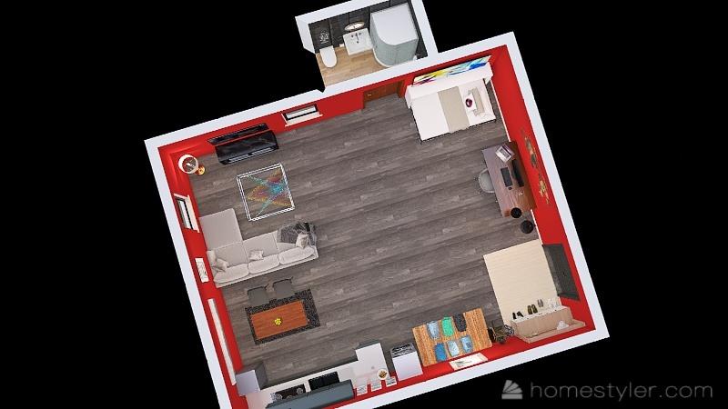 U2A1 Welcome to my home, Guajardo, Abby Interior Design Render