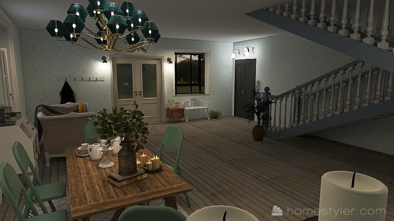 U2A2 My Bedroom - Bartley, Nora Interior Design Render