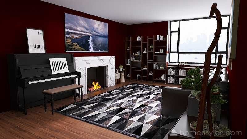 U2A1 Welcome to my home (Mark Havryshkiv) Interior Design Render