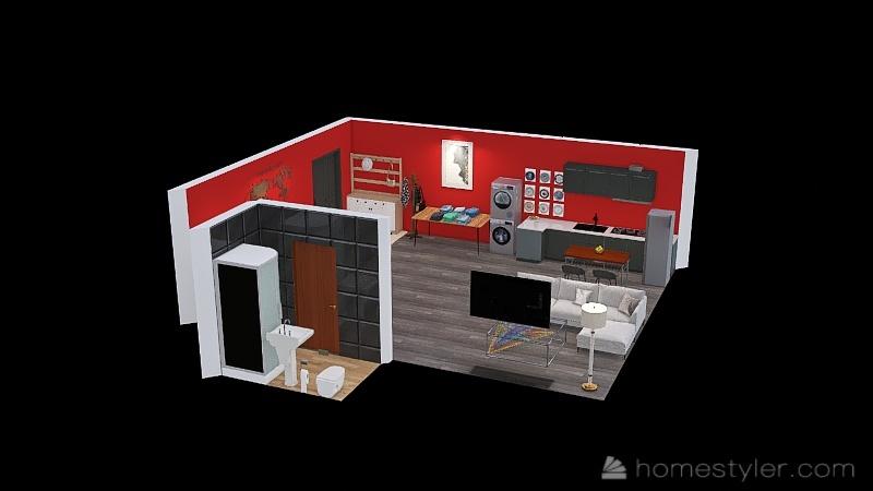 U2A3 My Kitchen Guajardo, Abby Interior Design Render