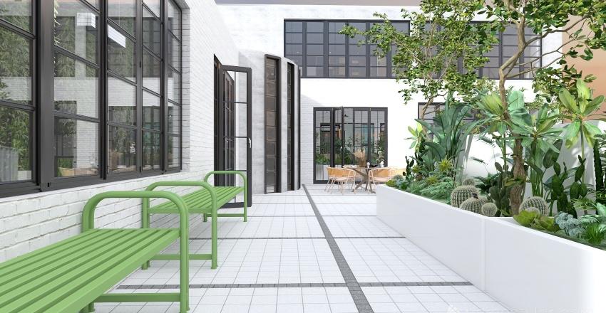 Eco friendly design studio Interior Design Render