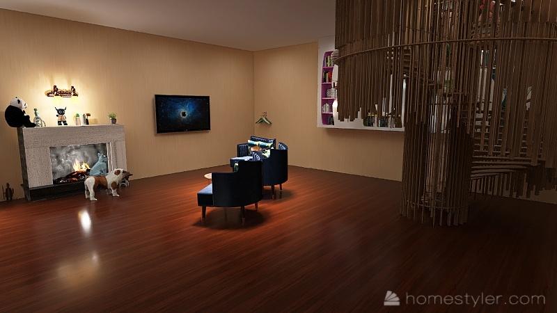 Copy of Copy of U2A1 welcome to BEDROOM Interior Design Render