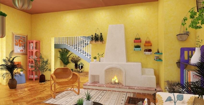 Viva México Interior Design Render