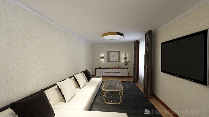 валя Interior Design Render