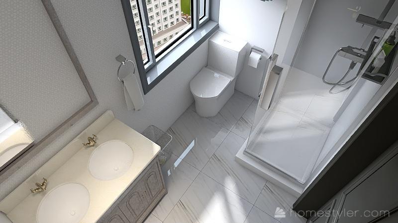 U2A2 welcome to my home Maksymyshyn, Blake Interior Design Render