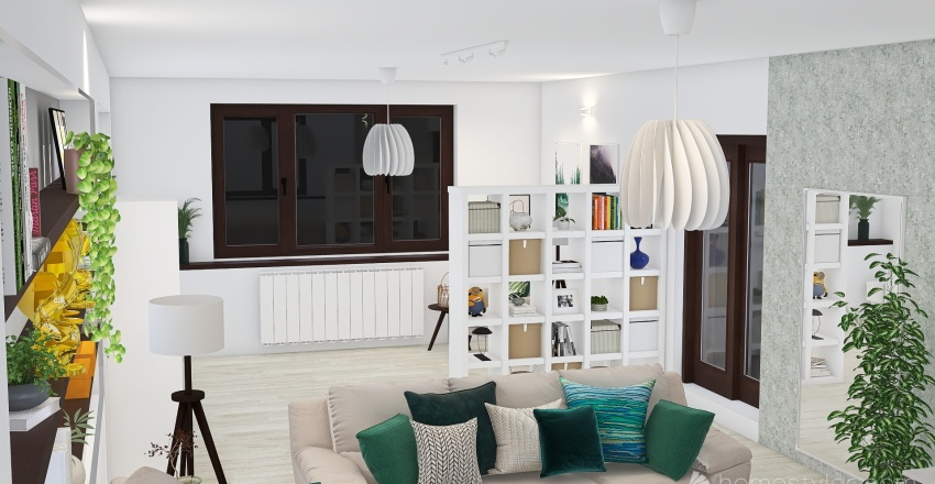 Viorica Susanu - Lampa SKYMNINGEN Interior Design Render