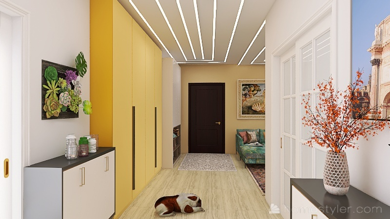 Ristrutturazione1 Interior Design Render