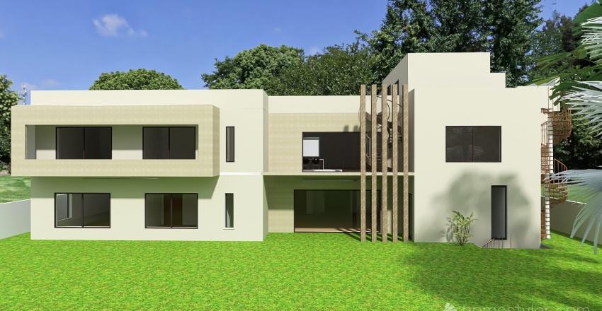 DHA Lahore option 6 Interior Design Render