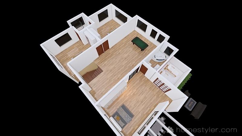 Casa FBR Interior Design Render