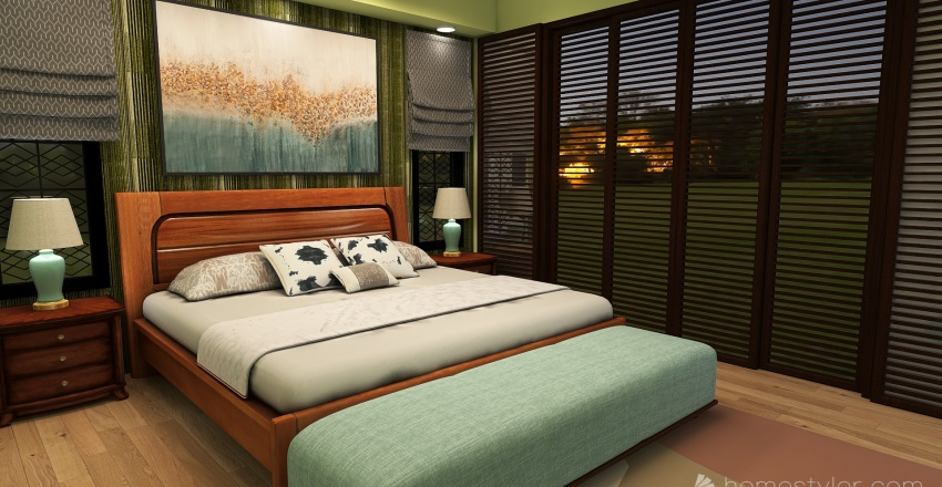 SGB House wit Pool update Interior Design Render